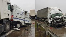 Nehoda zablokovala D1.