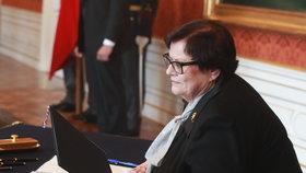 Marie Benešová se stala novou ministryní spravedlnosti 30. 4. 2019.