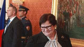 Marie Benešová se stala novou ministryní spravedlnosti 30.4.2019