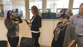 Virtuální realita simuluje vnímání lidí s demencí