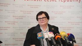Marii Benešovou uvedl do úřadu ministryně spravedlnosti premiér Andrej Babiš (30.4.2019)