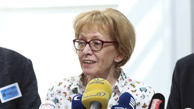 Exministryně spravedlnosti za ANO Helena Válková