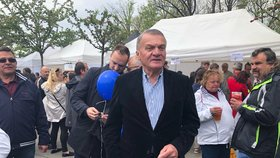 ODS vyrazila oslavit 1. máj na Petřín: Exprimátor Bohuslav Svoboda (1. 5. 2019)