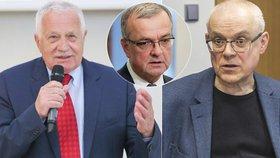 Václav Klaus a Vladimír Špidla hodnotí 15 let Česka v Evropské unii. Komentovali i další politici.