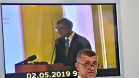 Premiér Andrej Babiš (ANO) řešil bezpečnost a budoucnost sítí 5G v ČR. (2. 5. 2019)