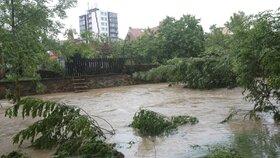 V roce 2013 se valila do Hostivaře voda z přehrady. Byla to doposud největší potopa.