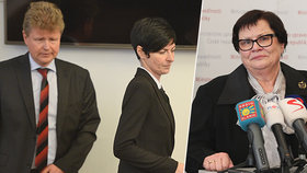 Nová ministryně spravedlnosti Marie Benešová (vpravo, za ANO): Zruší úřady Bradáčové a Ištvana?