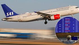 Piloti SAS ukončili stávku, dohodli se s aerolinkami na zvýšení platů.