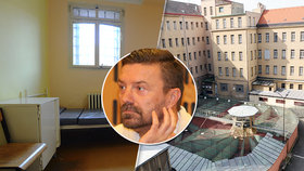 ŽIVĚ: Nástup Tomáše Řepky do vězení: Za těmihle zdmi stráví 2,5 roku!
