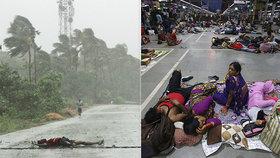 Východní pobřeží Indie neuvěřitelnou silou zasáhl cyklon Fani, (3.05.2019).