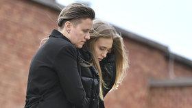 Zdrcená vdova Denisa Šuralová