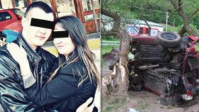 Adriana a Roman zemřeli při autonehodě.