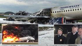 Pilot promluvil o tragickém letu ruského stroje SSJ-100, jehož nehoda si včera na moskevském letišti vyžádala 41 obětí.