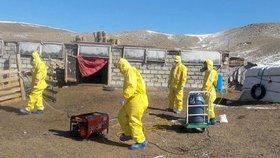 Mongolské úřady potvrdily, že za smrt manželů v západomongolské provincii Ulgii může dýmějový mor. Na místě je podle Siberian Times několik desítek dalších turistů z USA, Německa, Nizozemska, Švédska a Švýcarska, (květen, 2019).