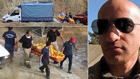 Kyperská policie objevila další kufr s tělem.