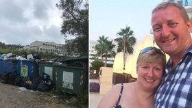 Manželé Clarkovi z Velké Británie zažili na Korfu dovolenou hrůzy
