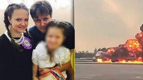 Xénie přišla při zřícení letounu o dceru i manžela.