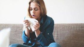 Z alergické rýmy se může vyklubat nebezpečné astma