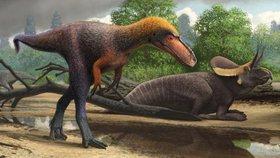 Vědci popsali nového dinosaura. Starší příbuzný Tyrannosaura rexa dostal jméno Suskityrannus.
