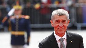Premiér Andrej Babiš vyrazil na neformální setkání lídrů EU do rumunského Sibiu (9.5.2019)