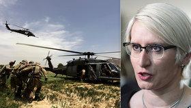 Karla Šlechtová se vyjádřila k nákupu amerických vrtulníků