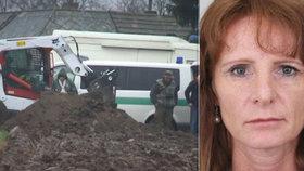 Policisté hledají hrob pohřešované podnikatelky.