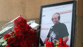 Po pádu z motorky zemřel ruský novinář Sergej Dorenko.