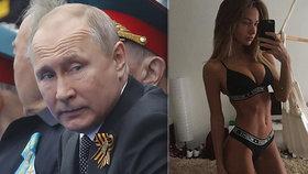 Administrativa ruského prezidenta Vladimira Putina rozeslala pozvánky na oslavy Dne vítězství instagramovým modelkám