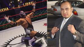 Wrestler Cesar Barron alias Silver King zemřel přímo v ringu při zápase.