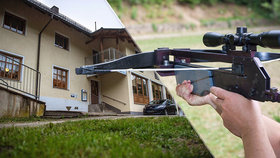 V tomto německém penzionu, který se nachází v Pasově, zemřeli tři lidé podivnou smrtí způsobenou výstřely z kuší.
