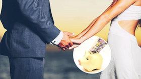 Na svatbách Češi škudlí, průměrně utratí od 20 do 50 tisíc korun.