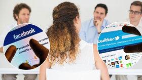 Pokud se ucházíte o zaměstnání, zkontrolujte si, co o vás říká váš profil na sociálních sítích.