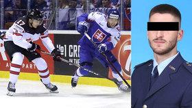 Voják Jakub (†23) si chtěl ulevit při sledování hokeje: Vypadl z balkonu a zemřel.