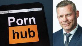 Dánský poslanec Joachim Olsen si nechal umístit volební reklamy na Pornhub