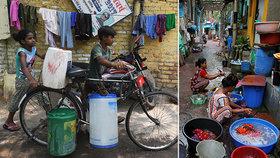 Indie čelí nedostatku vody.