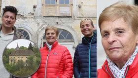 """Do Stropnického zámku se vrátila bývalá majitelka: """"Matěj se tu zamiloval"""""""