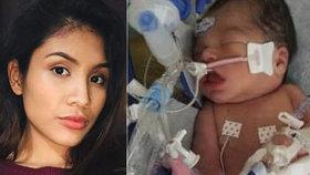 Tragédie pokračuje: Maminku zabili a vyřízli jí dítě z těla, miminko teď umírá