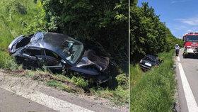 Monika (†38) nasedla po hádce za volant, nezvládla zatáčku a skončila ve škarpě! Doma na ni čekaly dvě děti