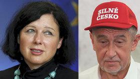 Výdaje na české předsednictví EU jsou zatím 2,7 miliardy Kč, Babiš je chce snížit na polovinu. Neřekl, jestli vláda znovu navrhne do komise Jourovou.