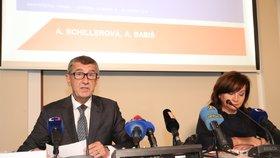 Tisková konference k parametrům rozpočtu 2020 (20.5.2019)