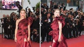 Amber Heard v Cannes