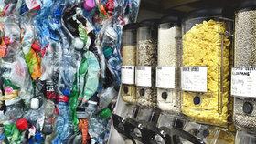 Nakupování bez obalů by mělo podle expertů pomoci životnímu prostředí.