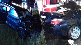 Při nehodě u Kamenného Újezdu zemřel řidič BMW na místě. Jeho spolujezdec zemřel v nemocnici po necelém týdnu