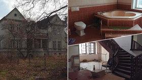 Luxusní vila s cejchem smrti je na prodej za pakatel! Dva mrtvé ve sklepě roztrhala bomba
