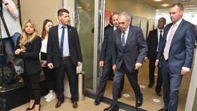 Prezident Miloš Zeman na sněmu Hospodářské komory (23.5.2019)