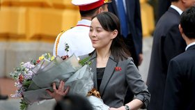 Kim Jo-čong, mladší sestra severokorejského diktátora Kim Čong-una.