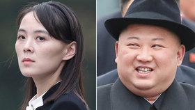 Kim Čong-un zřejmě sesadil z vysoké funkce svou sestru.