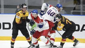 Hokejový zápas Česko - Německo