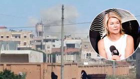 Novinářka Crawfordová promluvila o zkušenosti z Idlibu, ona a její tým se staly terčem armády syrského prezidenta Bašára Asada.