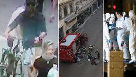 Exploze podomácku vyrobené nálože si v Lyonu vyžádala několik zraněných (24. 5. 2019).
